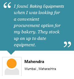 Client Testimonial- Baking Equipments India